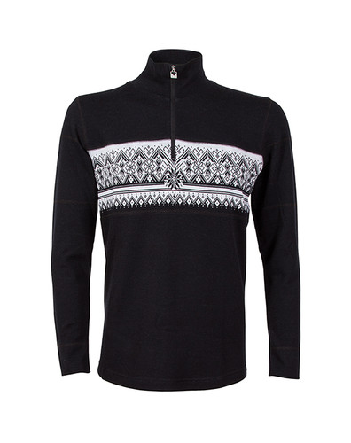 Dale of Norway, Rondane Pullover, Mens, in Black/White Mel, 92961-F