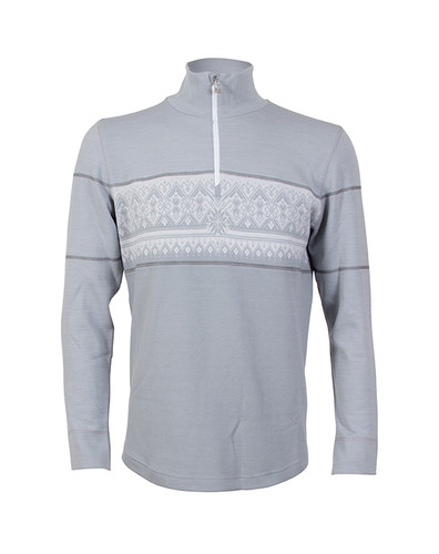 Dale of Norway, Rondane Pullover, Mens, in Light Grey/White Mel/Dark Grey, 92691-E