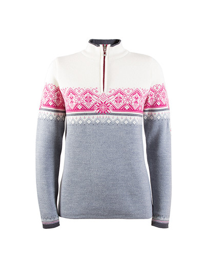 Dale of Norway, Moritz ladies pullover in Grey Mel/Schiefer/Off White/Allium, 91461-T