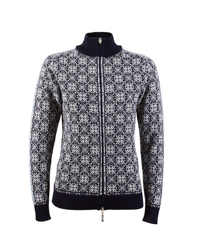 Dale of Norway Frida cardigan, ladies, in Navy/Off-White/Grey Mel/Ice Blue, 82931-C, on sale at The Nordic Shop.