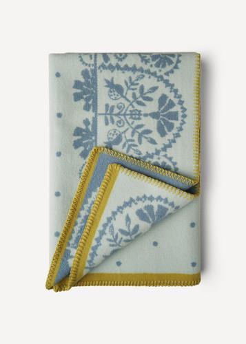 Oleana Baby Blanket, 208-N Light Blue