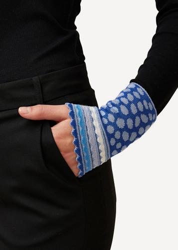 Oleana Dotted Wristlet, 194F Blue