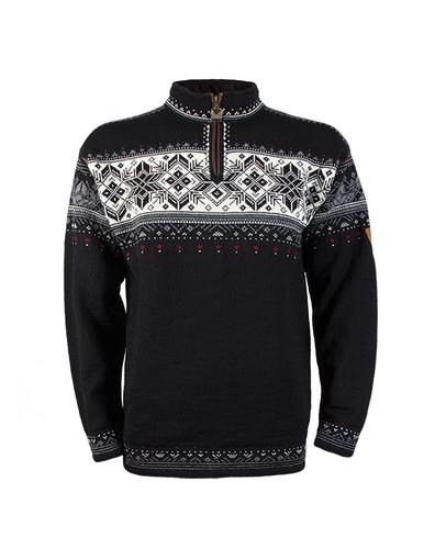 Dale of Norway Blyfjell Sweater - Black/Off White/Smoke/Raspberry, 91291-F
