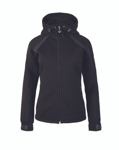 Ladies Dale of Norway Jotunheimen knitshell jacket, Black, 85141-B