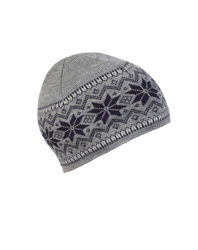 Dale of Norway Garmisch Unisex Hat in Smoke/Navy/Light Charcoal, 45971-T