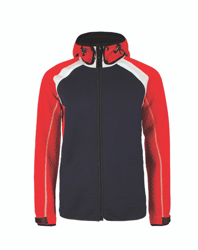 Dale of Norway, Jotunheim Jacket, Mens, in Navy/Raspberry/Off White, 85151-K