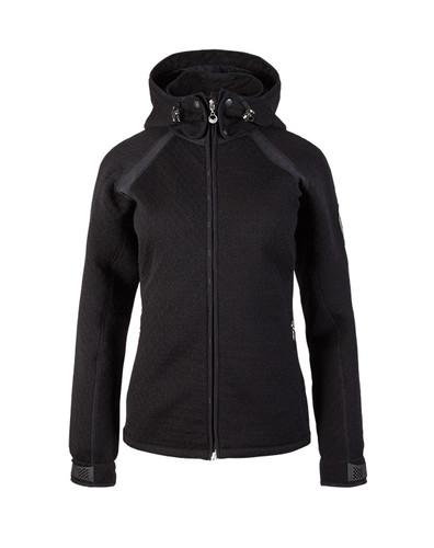 Dale of Norway, Viking Knitshell ladies jacket in Black, 85161-F
