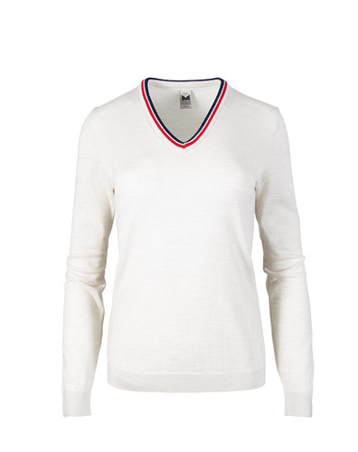 Dale of Norway, Kristin Sweater, Ladies, in Off White/Navy/Raspberry, 93181-A