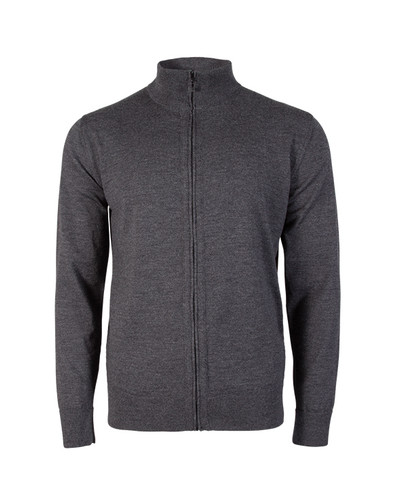 Dale of Norway Olav cardigan, mens, in Dark Grey Melange, 83011-T, on sale at The Nordic Shop.