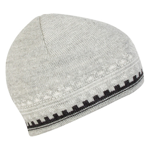 Dale of Norway 125th Anniversary Hat - Light Charcoal/Dark Charcoal/Off White, 47931-T