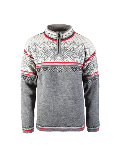 Dale of Norway, Vail sweater, unisex, in Smoke/Raspberry/Off White/Dark Charcoal/Light Charcoal, 90331-T