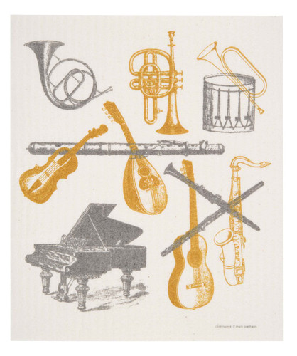 Swedish dish cloth, Musical Instruments design