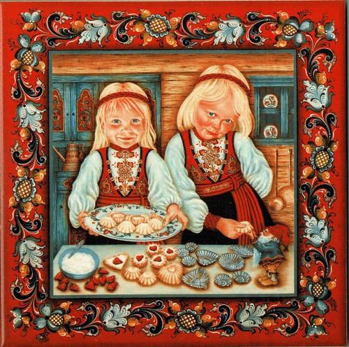 Suzanne Toftey Tile - The Sandbakkel Bakers
