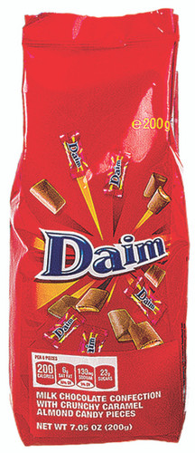 Bag of Imported Swedish Daim Mini Bars