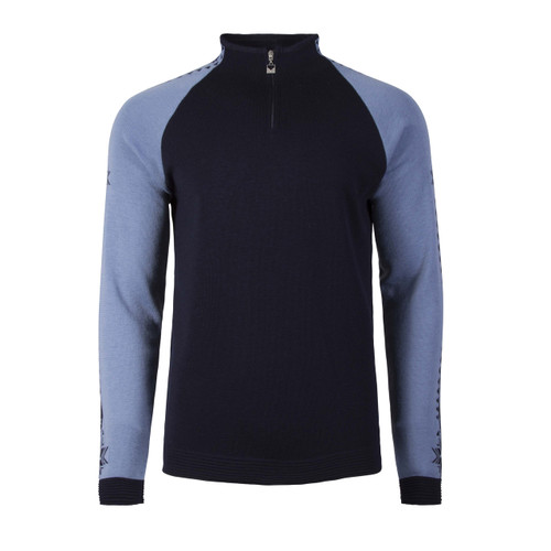Dale of Norway Geilo Pullover, Mens, in Navy/Blue Shadow, 82321-C
