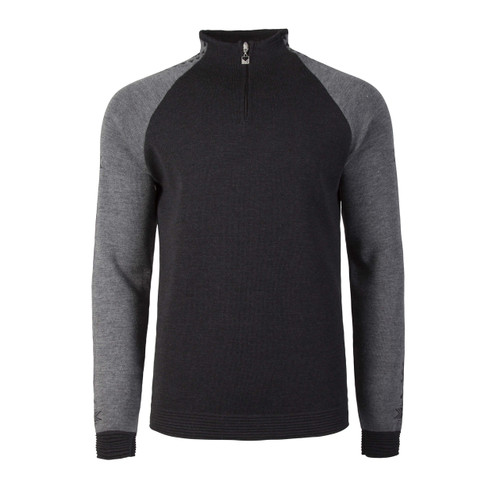Dale of Norway Geilo Pullover, Mens, in Dark Charcoal/Smoke, 82321-E
