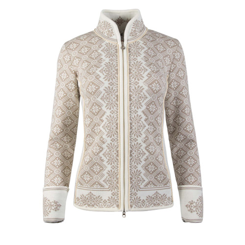Dale of Norway, Christiania cardigan, ladies, in Off White/Beige, 81951-P, on sale at The Nordic Shop