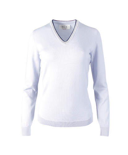 Dale of Norway Kristin Sweater, Ladies - Ice Blue/Off White/Navy/Light Grey, 93181-D