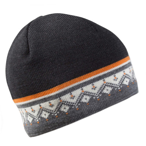 Dale of Norway, Moritz Unisex Hat in Smoke/Orange Peel/Off White/Dark Charcoal, 48361-J