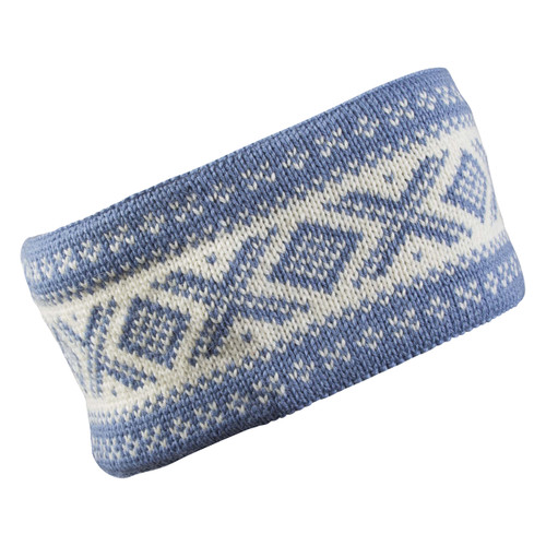 Dale of Norway, Cortina Unisex Headband in Blue Shadow/Off White, 25014-H