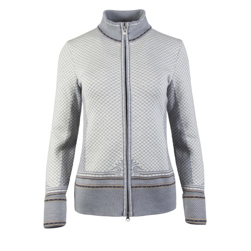 Dale of Norway, Viktoria  cardigan, ladies, in Grey Mel/Beige/Schiefer/Off White, 83151-T, on sale at The Nordic Shop