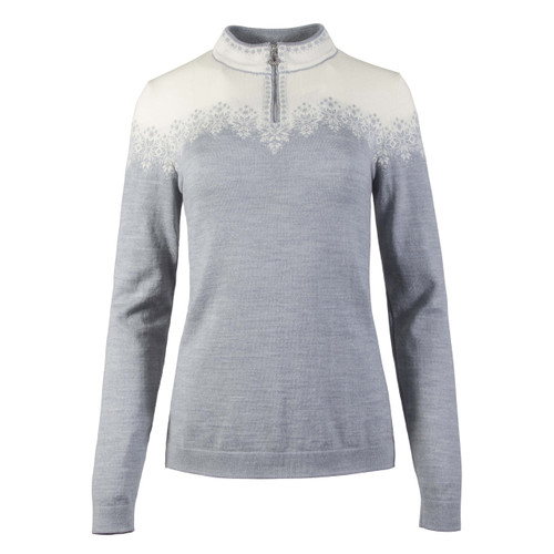 Dale of Norway, Snefrid Sweater, Ladies, in Grey/Off White, 93431-T
