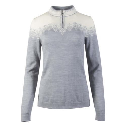 Dale of Norway, Snefrid Sweater, Ladies, in Grey/Off White, 93431-T