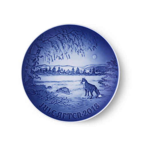 2018 Bing and Grondahl Annual Christmas Plate. Available at The Nordic Shop.