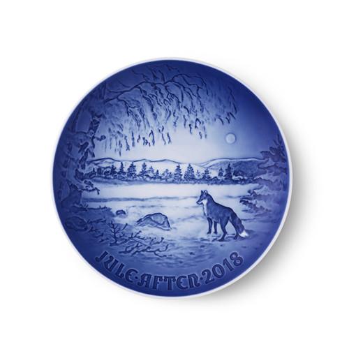 Bing and Grondahl 2018 Christmas Plate