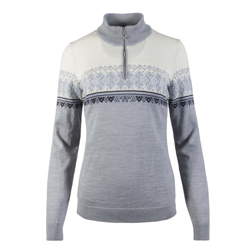Dale of Norway, Hovden Sweater, Ladies, in Grey/Ice Blue/Navy/Off White, 93451-T