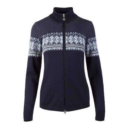 Dale of Norway, Hovden  cardigan, ladies, in Navy/Off White/Ice Blue/Grey-83201-C, on sale at The Nordic Shop