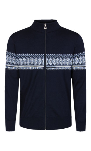 Dale of Norway, Hovden  cardigan, mens, Navy/Off White/Blue Shadow/Smoke, 83191-C