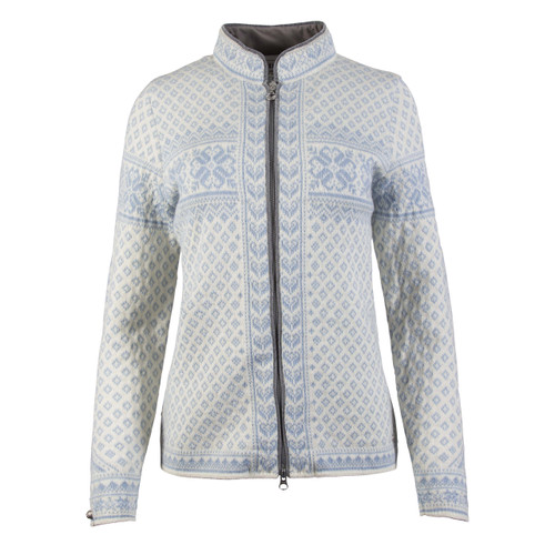 Dale of Norway Sunniva  cardigan, ladies, Off White/Ice Blue, 83161-A, on sale at The Nordic Shop