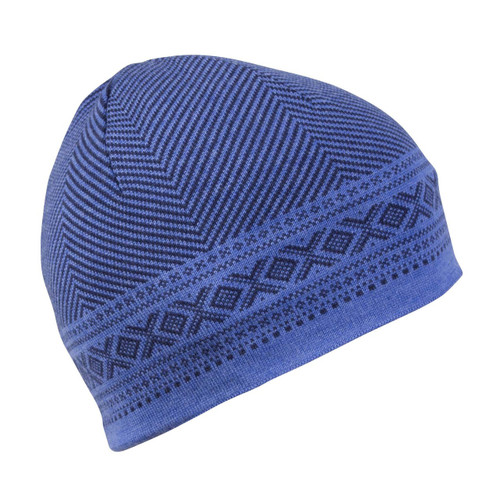 Dale of Norway, Harald Unisex Hat, Navy Mel, Medium Blue Mel, 48061-H