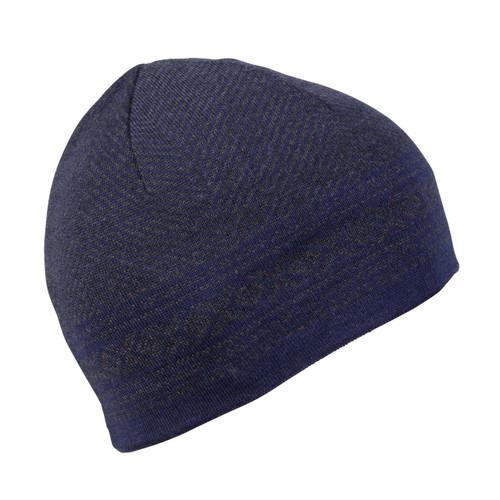 Dale of Norway, Harald Unisex Hat, Navy Mel/Dark Grey Mel, 48061-C
