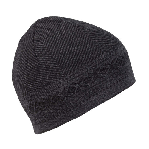 Dale of Norway, Harald Unisex Hat, Black Mel/Dark Charcoal Mel, 48061-F