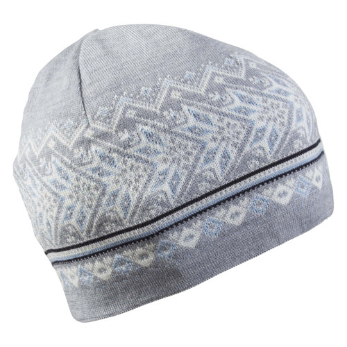 Dale of Norway, Harald Unisex Hat, Grey/Ice Blue/Off White/Navy, 48081-T