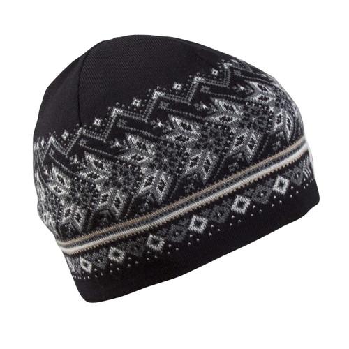 Dale of Norway, Hovden Unisex Hat, Black/Off White/Smoke/Beige, 48081-F