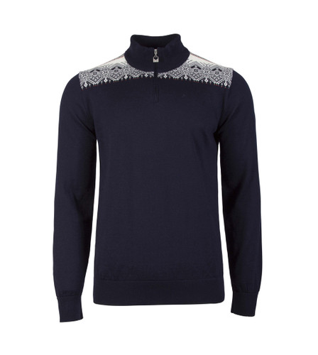 Dale of Norway Fiemme Sweater, mens, in Navy/Raspberry/Orange Peel/Peacock/Off White, 93421-C