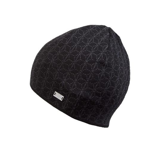 Dale of Norway, Stjerne Unisex Hat, Black/Dark Grey Mel, 48121-F