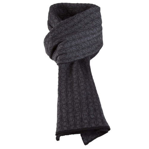 Dale of Norway, Stjerne Scarf in Black/Dark Grey Mel, 11671-F