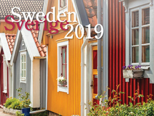 2019 Nordiskal Sweden Calendar in Photographs - Front Cover
