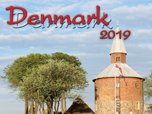 2019 Denmark Calendar in Photographs - Nordiskal Front Cover