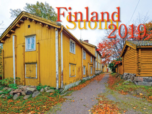 2019 Finland Calendar in Photographs - Nordiskal Front Cover