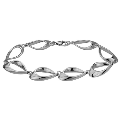 Eye of the Needle Bracelet, Danish Silversmiths