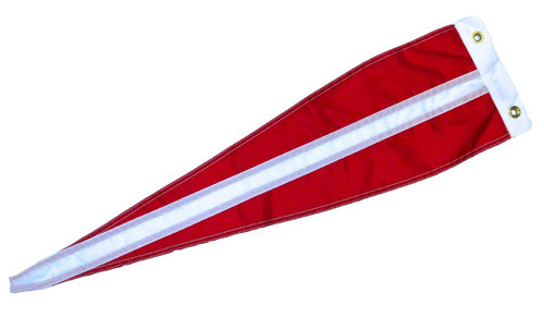"Danish Vimple Flag - 84"" - Long"