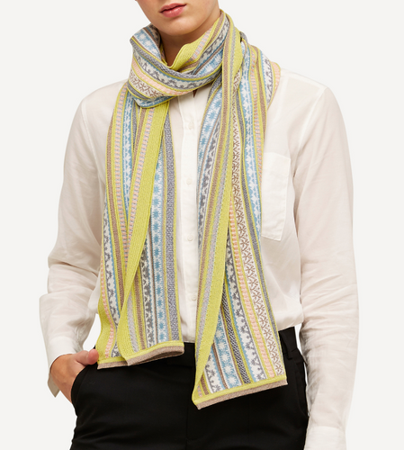 Oleana Scarf, 334Y Yellow