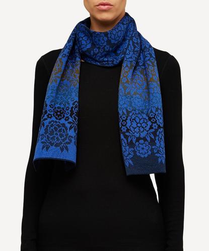 Kristina Oleana Shawl, 340W Blue