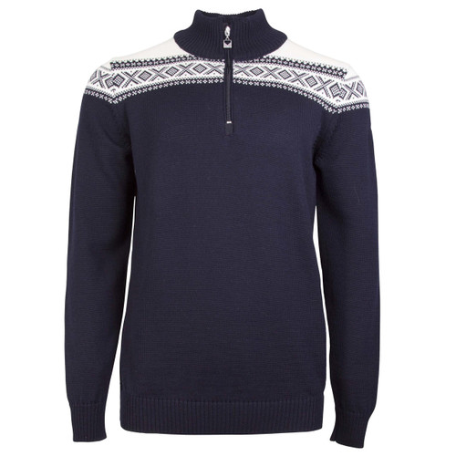 Dale of Norway, Cortina Merino sweater, mens, in Navy/Off White, 93821- C