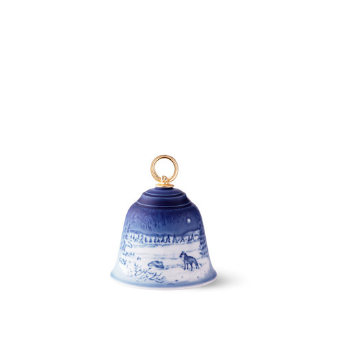 2018 Bing and Grondahl Christmas Bell, available at The Nordic Shop